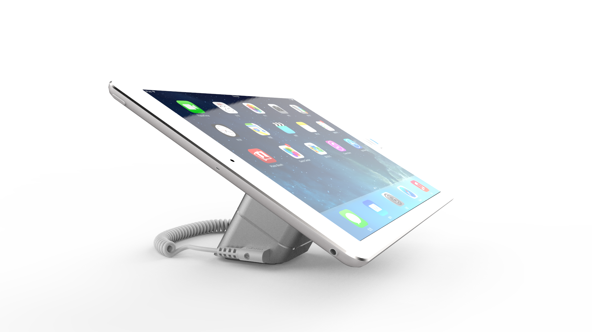 タブレット盗難防止展示台 MAX715(iPad等)